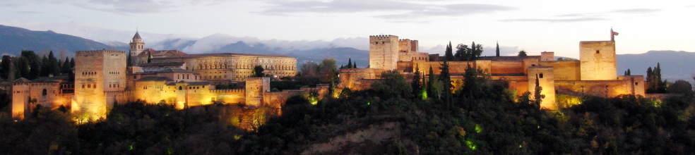 Alhambra Granada panorama