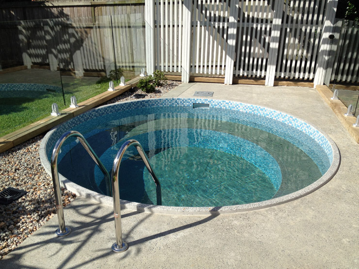 How to build a plunge pool joy studio design gallery for Plunge pool