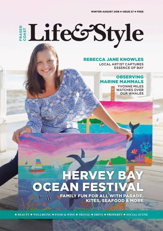 August 2017 Life & Style Magazine, Fraser Coast Chronicle, Cover