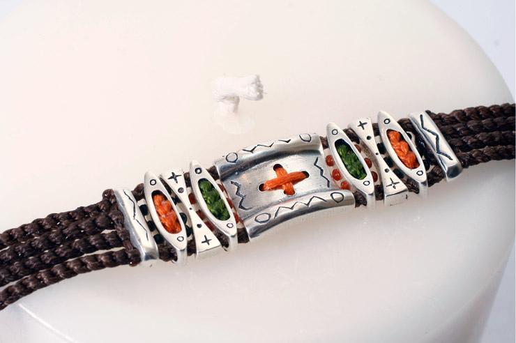 Cross Pendant Bracelet
