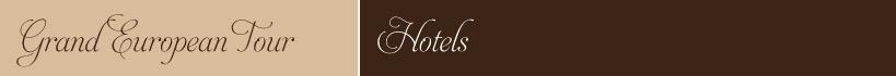 European Tour Hotels