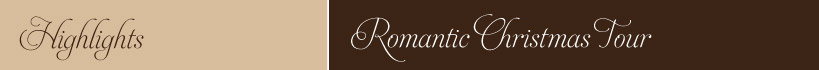 Romantic Christmas Tour