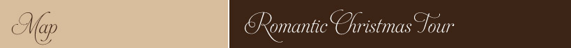 Romantic Christmas Tour Map