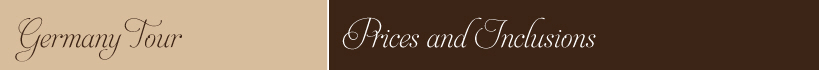 Germany Tour Package- Prices - Inclusions