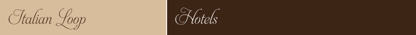 Italy Tour Hotels