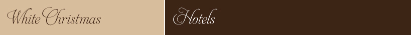 Christmas Tours Hotels