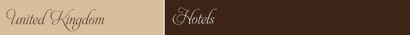 United Kingdom Tour Hotels
