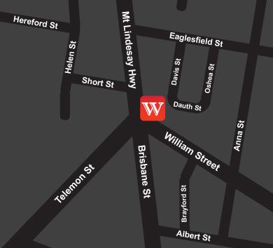 Wish Hair Studio Map Beaudesert
